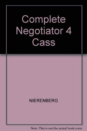 9780131620339: The Complete Negotiator