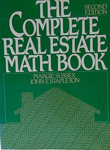 9780131622982: Complete Real Estate Math Book