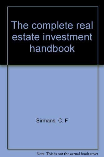 9780131623132: Title: The complete real estate investment handbook