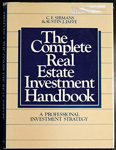 9780131623217: The complete real estate investment handbook