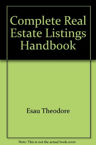 9780131624047: Complete real estate listings handbook