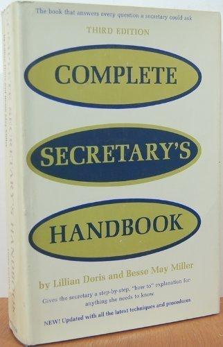 9780131633940: Complete secretary's handbook,