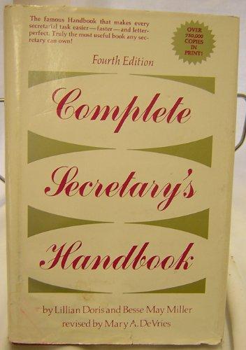 9780131634022: Complete secretary's handbook