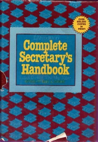 9780131634107: Complete secretary's handbook