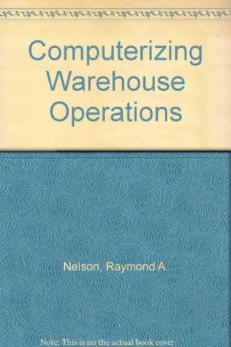 9780131639249: Computerizing Warehouse Operations