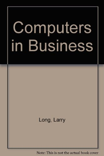 9780131642942: Computers in Business