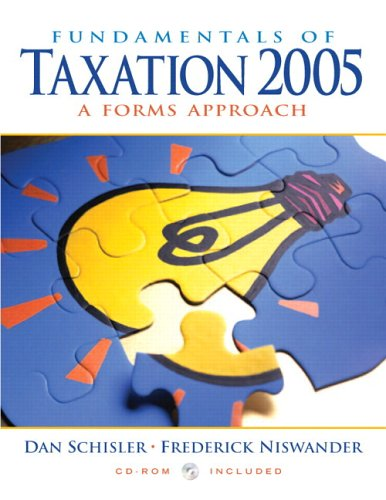 9780131644076: Fundamentals of Taxation 2005 and TaxAct 2004 (2nd Edition)
