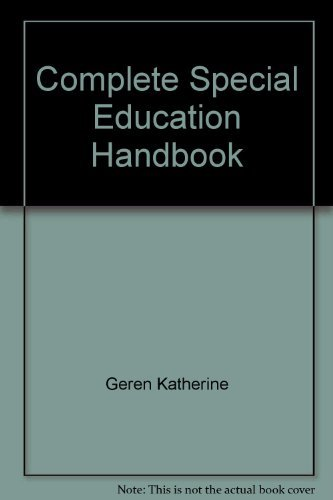 9780131645660: Complete special education handbook