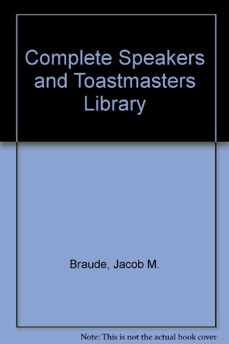 9780131646162: Complete Speakers and Toastmasters Library