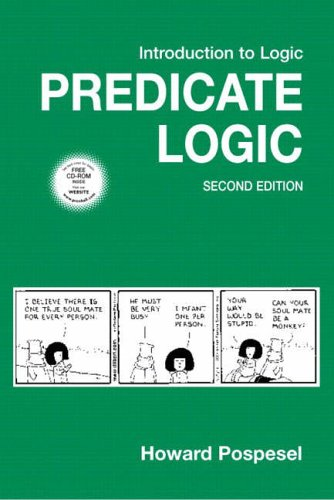 9780131649897: Introduction to Logic: Predicate Logic (2nd Edition)