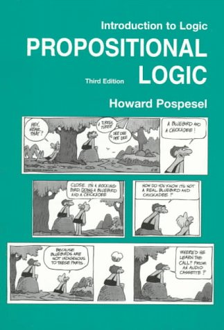 9780131649972: Introduction to Logic: Propositional Logic