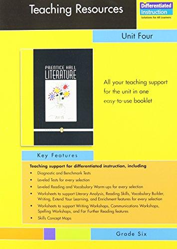 9780131650992: PRENTICE HALL LITERATURE PENGUIN EDITION TEACHING RESOURCES UNIT 4 POETRY GRADE 6 2007C