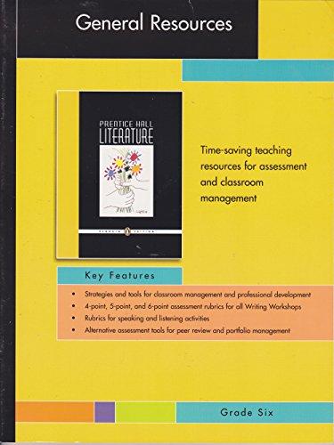 Prentice Hall Literature - General Resources -: Editor-Pearson Education