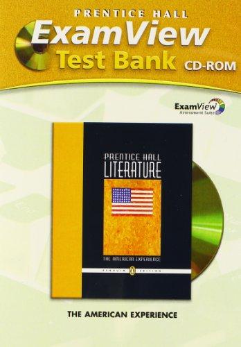 9780131651548: PRENTICE HALL LITERATURE EXAM VIEW TEST BANK CD ROM GRADE 11 2007C