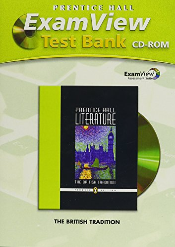 9780131651555: PRENTICE HALL LITERATURE EXAM VIEW TEST BANK CD ROM GRADE 12 2007C