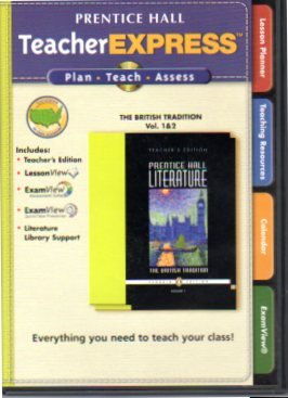 9780131651807: TeacherExpress Prentice Hall The British Tradition Vol 1 & 2