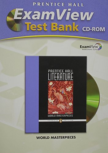 Prentice Hall Writing And Grammar ExamView Test: Pearson Prentice Hall