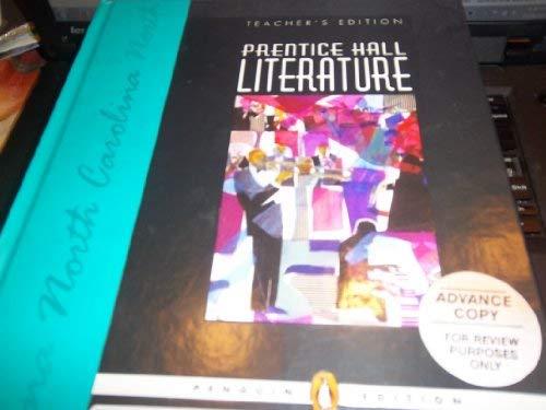 9780131652361: Prentice Hall Literature (Grade 9 Penguin Edition) [North Carolina Teacher's Edition]