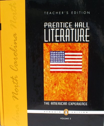 9780131652392: Teacher's Edition: Prentice Hall Literature the American Experience