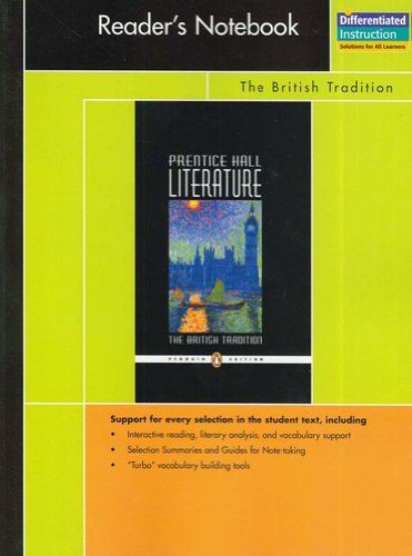 9780131652965: PRENTICE HALL LITERATURE PENGUIN EDITION READERS NOTEBOOK GRADE 12      2007C