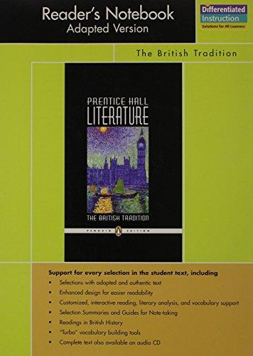 Prentice Hall Literature, The British Tradition [Penguin: Staff