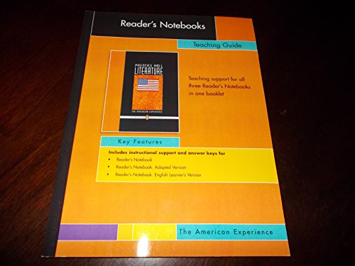 9780131653009: Reader's Notebooks: Teaching Guide