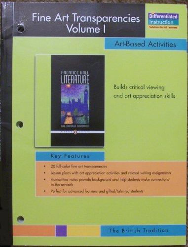 9780131653122: Prentice-Hall The British Tradition Fine Art Transparencies Volume 1