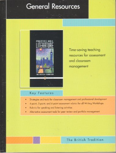 PRENTICE HALL LITERATURE PENGUIN EDITION GENERAL RESOURCES: HALL, PRENTICE