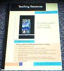 Prentice Hall Literature The British Tradition Teaching: Pearson Prentice Hall