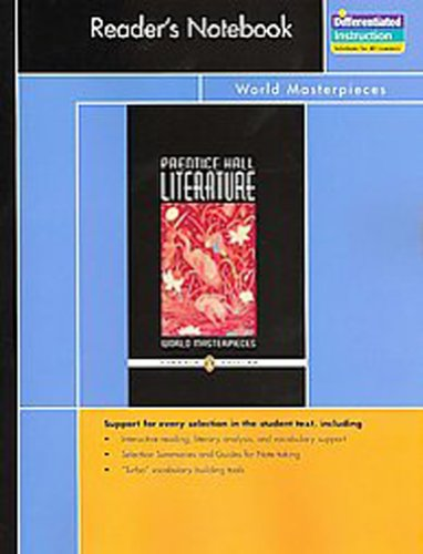 Prentice Hall Literature, Penguin Edition Reader's Notebook: none listed