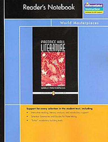 9780131653269: Prentice Hall Literature, Penguin Edition Reader's Notebook: World Masterpieces, Grade 12