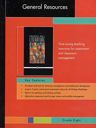 Prentice Hall Literature General Resources: Editor-Inc. Pearson Education