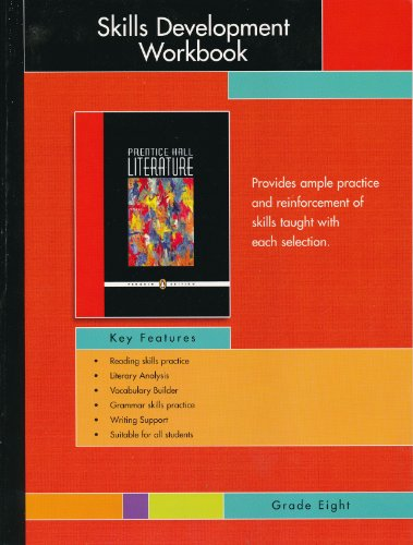 9780131653832: PRENTICE HALL LITERATURE PENGUIN EDITION SKILLS DEVELOPMENT WORKBOOK    GRADE 8 2007C