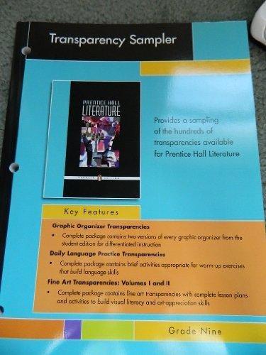 9780131653979: Prentice Hall Literature: Fine Art Transparencies Volume I, Art-Based Activities, Grade Nine