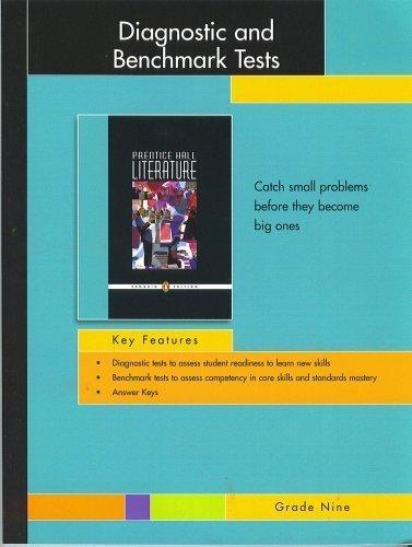 9780131654136: Prentice Hall Literature, Penguin Edition, Diagnostic and Benchmark Tests, Grade Nine (Diagnostic te