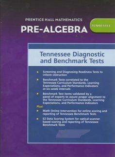 9780131654471: Prentice Hall Pre Algebra Tennessee Diagnostic and Benchmark Tests