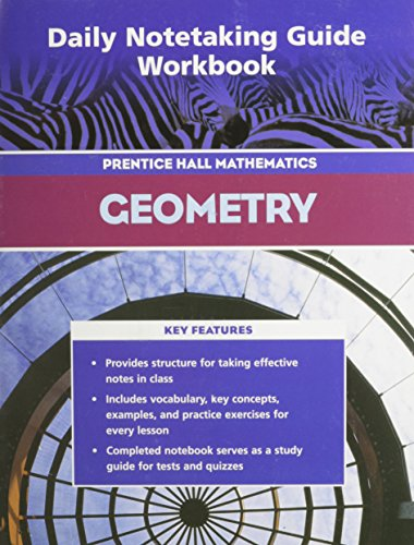 9780131655607: PRENTICE HALL MATH GEOMETRY DAILY NOTETAKING GUIDE 2004C