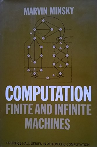 9780131655638: Computation: Finite and Infinite Machines (Automatic Computation S.)