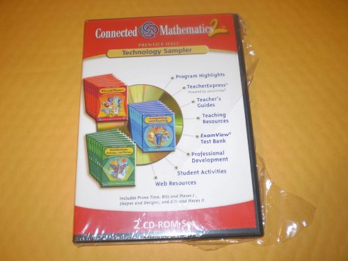 9780131656123: Connected Mathematics 2 Technology Sampler