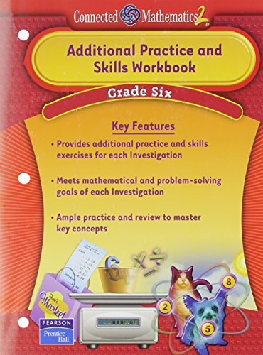 9780131656130: Prentice Hall Connected Mathematics Grade 6 Additional Practice Workbook 2006c (Connected Mathematics 2)