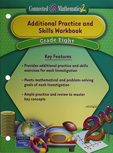 9780131656161: Additional Practice and Skills Workbook, Grade 8 (Connected Mathematics 2)