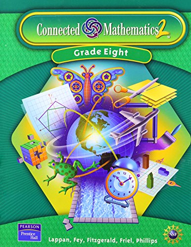 9780131656239: Prentice Hall Connected Mathematics Grade 8 (Single Bind) Student Editions (Hardcover) 2006 (Connected Mathematics 2)