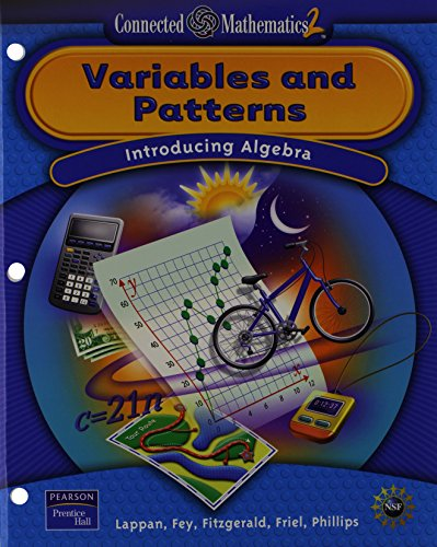 9780131656383: Variables and Patterns: Introducing Algebra (Connected Mathematics 2)