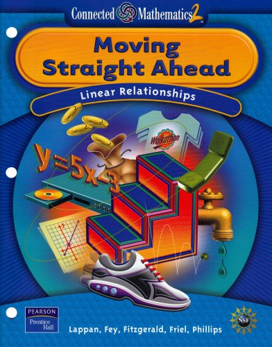 9780131656420: Moving Straight Ahead: Linear Relationships (Connected Mathematics 2, Grade 7)