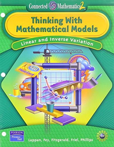 Thinking with Mathematical Models: Linear and Inverse: Glenda Lappan, James