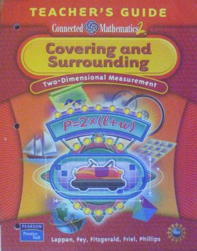 9780131656635: Covering and Surrounding: Two-Dimensional Measurement, Teacher's Guide (Connected Mathematics 2)