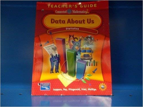 9780131656680: Data About Us: Statistics, Grade 6 (Connected Mathematics 2, Teacher's Guide)