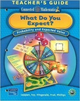 9780131656758: Connected Mathematics 2 : What Do You Expect? Probability and Expected Value, Teacher's Guide