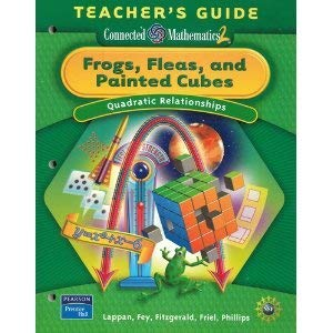 9780131656802: Frogs, Fleas, and Painted Cubes: Quadratic Relationships Teacher's Guide (Grade 8 / Connected Mathematics 2)