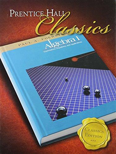 Algebra 1: Paul A. Foerster